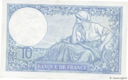 10 Francs MINERVE modifié FRANCE  1939 F.07.05 SPL+