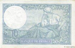 10 Francs MINERVE modifié FRANCE  1939 F.07.10 SUP