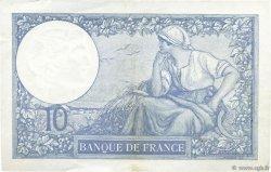 10 Francs MINERVE modifié FRANCE  1939 F.07.13 SUP