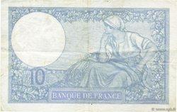 10 Francs MINERVE modifié FRANCE  1939 F.07.14 TTB+