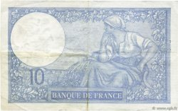 10 Francs MINERVE modifié FRANCE  1940 F.07.18 TTB+