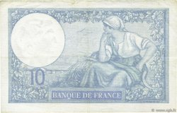 10 Francs MINERVE modifié FRANCE  1940 F.07.19 SUP