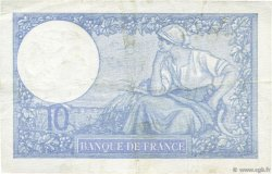 10 Francs MINERVE modifié FRANCE  1941 F.07.26 TTB