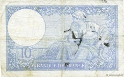 10 Francs MINERVE modifié FRANCE  1941 F.07.28 B+