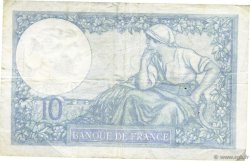 10 Francs MINERVE modifié FRANCE  1941 F.07.30 TTB
