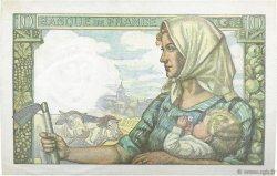 10 Francs MINEUR FRANCE  1942 F.08.03 SPL