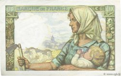 10 Francs MINEUR FRANCE  1942 F.08.06 SUP+