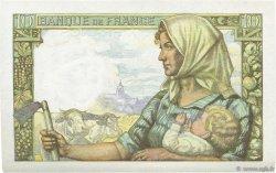 10 Francs MINEUR FRANCE  1942 F.08.06 SPL+