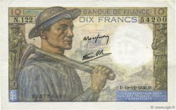 10 Francs MINEUR FRANCE  1946 F.08.16 SUP