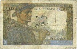 10 Francs MINEUR FRANCE  1946 F.08.16 TB