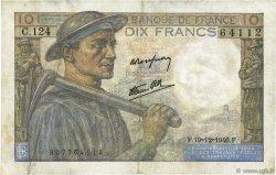 10 Francs MINEUR FRANCE  1946 F.08.16 TTB