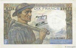 10 Francs MINEUR FRANCE  1946 F.08.16 SUP