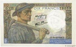 10 Francs MINEUR FRANCE  1946 F.08.16 NEUF