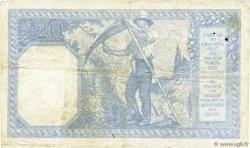20 Francs BAYARD FRANCE  1917 F.11.02 TB+