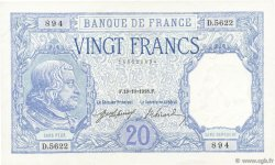 20 Francs BAYARD FRANCE  1918 F.11.03 SPL