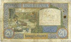 20 Francs SCIENCE ET TRAVAIL FRANCE  1941 F.12.16 B