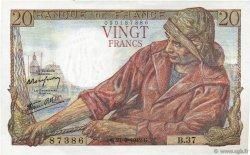 20 Francs PÊCHEUR FRANCE  1942 F.13.03 SPL