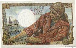 20 Francs PÊCHEUR FRANCE  1942 F.13.04 SPL