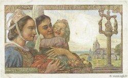 20 Francs PÊCHEUR FRANCE  1943 F.13.06 TTB