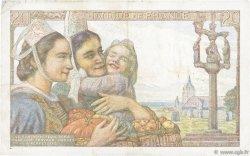 20 Francs PÊCHEUR FRANCE  1944 F.13.09 TTB