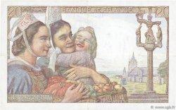 20 Francs PÊCHEUR FRANCE  1945 F.13.10 TTB