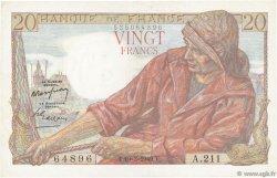 20 Francs PÊCHEUR FRANCE  1949 F.13.14 pr.SUP