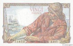 20 Francs PÊCHEUR FRANCE  1949 F.13.15 pr.SPL