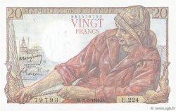 20 Francs PÊCHEUR FRANCE  1949 F.13.15 SPL