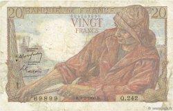 20 Francs PÊCHEUR FRANCE  1950 F.13.17 B+