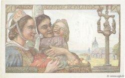 20 Francs PÊCHEUR FRANCE  1950 F.13.17 SUP+