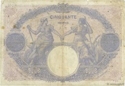 50 Francs BLEU ET ROSE FRANCE  1915 F.14.28 B