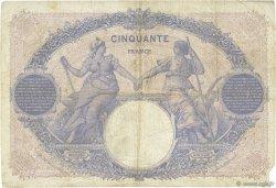 50 Francs BLEU ET ROSE FRANCE  1916 F.14.29 B