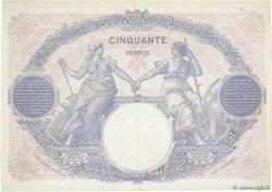 50 Francs BLEU ET ROSE FRANCE  1925 F.14.38 TTB+