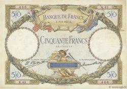 50 Francs LUC OLIVIER MERSON FRANCE  1927 F.15.01 pr.TTB