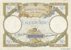50 Francs LUC OLIVIER MERSON type modifié FRANCE  1931 F.16.02 TB+