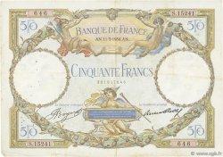 50 Francs LUC OLIVIER MERSON type modifié FRANCE  1934 F.16.05 TB+