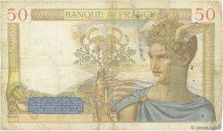50 Francs CÉRÈS FRANCE  1935 F.17.07 TB