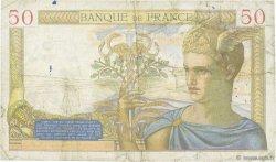 50 Francs CÉRÈS FRANCE  1935 F.17.10 TB