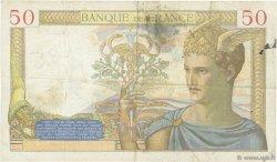 50 Francs CÉRÈS FRANCE  1935 F.17.18 TB+