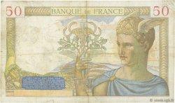 50 Francs CÉRÈS FRANCE  1936 F.17.26 TB+
