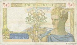 50 Francs CÉRÈS FRANCE  1936 F.17.31 TB