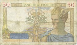 50 Francs CÉRÈS FRANCE  1937 F.17.33 B+