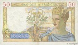 50 Francs CÉRÈS modifié FRANCE  1938 F.18.12 TTB