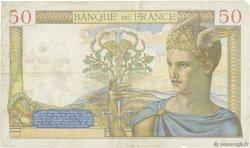 50 Francs CÉRÈS modifié FRANCE  1938 F.18.13