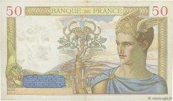 50 Francs CÉRÈS modifié FRANCE  1938 F.18.18 TTB