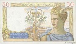 50 Francs CÉRÈS modifié FRANCE  1939 F.18.22 TTB+
