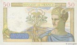 50 Francs CÉRÈS modifié FRANCE  1940 F.18.41 TTB