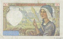 50 Francs JACQUES CŒUR FRANCE  1940 F.19.03 SUP