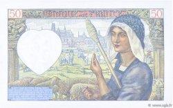 50 Francs JACQUES CŒUR FRANCE  1941 F.19.09 SUP