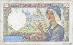 50 Francs JACQUES CŒUR FRANCE  1941 F.19.12 pr.TB